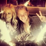 "Looking Like Celebrities, Jef Holm and Emily Maynard Share a Photo of Jef""s Birthday in New York Friday"